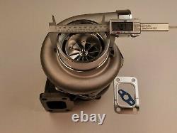10 blade Billet Turbo charger GTX3582R GTX35 Dual Ball Bearing T3 1.06 A/R C. 70