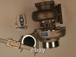 10 blades billet Ball Bearing Turbolader T3 flange. 82 A/R. 70 GTX3582R Turbo