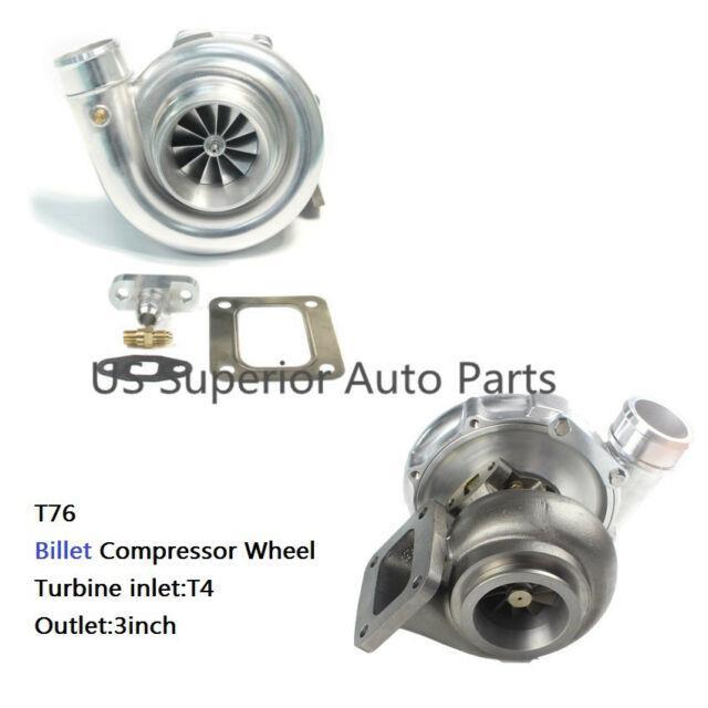Aftermarket T76 Anti-surge Turbo Billet Compressor Wheel Rear T4.96 A/r P-trim