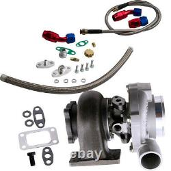 Anti surge Turbocharger T3 GT30 GT3037 GT3076 Turbo Oil Drain inlet outlet Lines