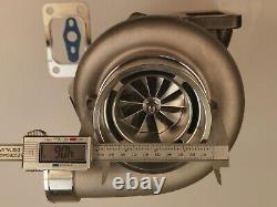 Billet Ceramic dual Ball Bearing T3.82 A/R turbine. 70 GTX3582R Turbo charger
