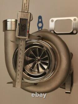 Billet Turbocharger T3 0.82 A/R V-band. 70 AR GTX3582R Dual Ceramic Ball Bearing
