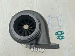 Billet turbo charger T4 3 V-band GT35 T66 T04Z. 70 A/R anti-surge. 81 A/R hot