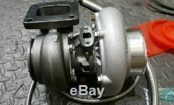 Billet wheel T66 GT35 GT3584 turbocharger. 70 A/R anti-surge. 68 A/R new