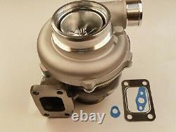 Billet wheel Turbocharger A/R. 60 T3 flange A/R 1.06 GT35 GTX3576R Ball Bearing