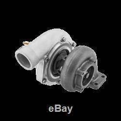 CXRacing Dual Ball Bearing GT35 T3 0.63 A/R Turbo Charger Anti-Surge 500HP