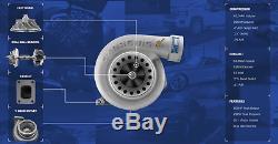 CXRacing Dual Ball Bearing GT35 T4 0.81 A/R Turbo Charger Anti-Surge 500HP