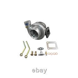 CXRacing GT35 T4 Turbo Charger 0.81 A/R Anti-Surge 500HP Oil Fitting Fast Spool