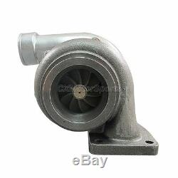 CXRacing Universal GT35 T4 Turbo Charger Anti-Surge 500+ HP. 68 A/R with 3 V-Band