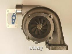 Ceramic Ball Bearing T3.82 A/R 4 bolt Billet Turbocharger A/R. 70 cold GTX3582R