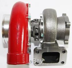 Emusa Red Gt35 Gt3582 Turbo Charger T3 Ar. 70/82 Anti-surge Compressor