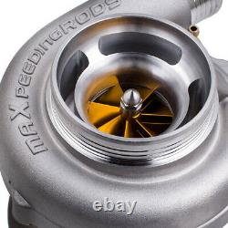 GT3037R GT3076R Upgraded racing turbo with anti-surge housign yellow wheel blades