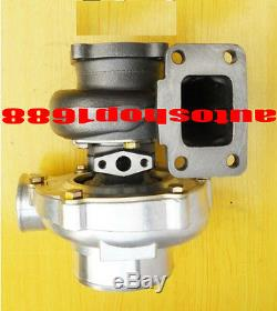 GT35 GT3582R A/R 0.70 anti-surge. 82 Exhaust T3 oil&water turbo turbocharger