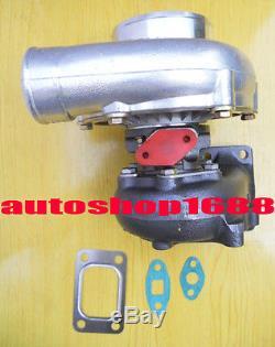 GT35 GT3582 T3T4 turbocharger A/R. 63 rear AR. 70 T3 flange oil turbo 5 bolts