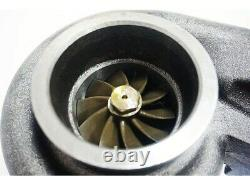 GT35 T4 Anti-Surge Turbo Charge 3'' V-band 500+HP+Oil Fitting Drain Turbocharger
