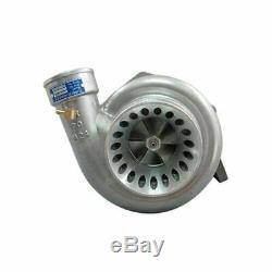 GT35 T4 Turbo Charger Anti-Surge 500+ HP + 3 V-Band Clamp Flange Accessories