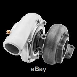 GT35 Turbo Charger T3 Anti-Surge Air Inlet Oil + Water Cooled with Accessories Kit