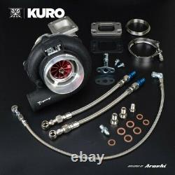 KURO 4 GTX3076R Ball Bearing Turbo Anti-surge A/R 0.63 T3 Stainless 640 HP
