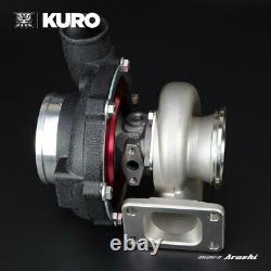 KURO GTX3076R Billet Ball Bearing Turbo Anti-surge A/R 0.82 T3 Stainless 640 HP