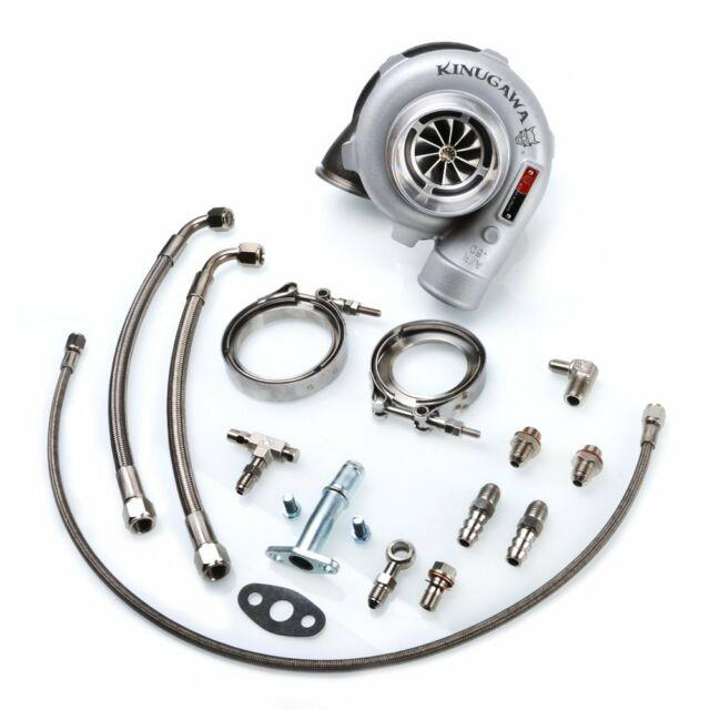 Kinugawa Ball Bearing Turbo 3 Anti Surge Gtx3067r With A/r. 83 In/outlet V-band