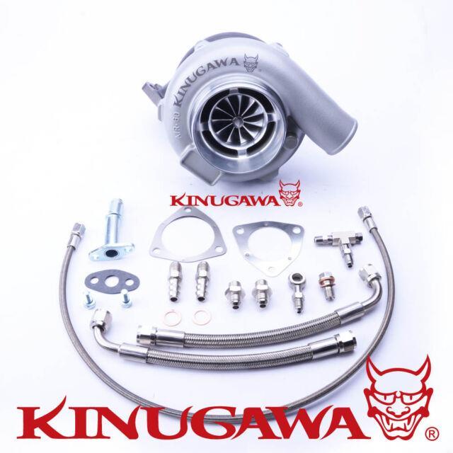 Kinugawa Ball Bearing Turbo 4 Anti Surge Gtx3071r 60mm With. 73 3 Bolt External