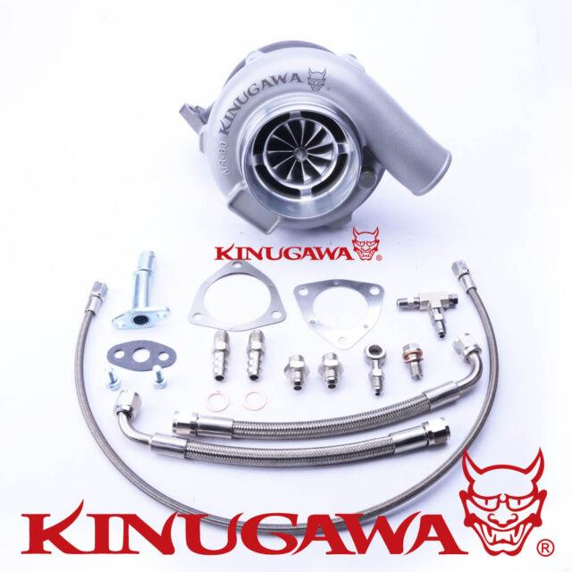 Kinugawa Ball Bearing Turbo 4 Anti Surge Gtx3576r With. 73 3 Bolt External Gated