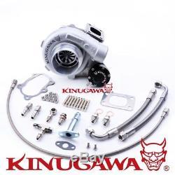 Kinugawa Ball Bearing Turbo GTX3067R 3 Anti Surge / 8cm T25 / 5Bolt Outlet