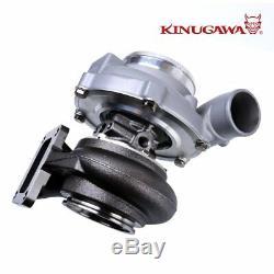 Kinugawa Ball Bearing Turbocharger 4 Anti Surge GTX3071R 60mm with. 85 T4 V-Band