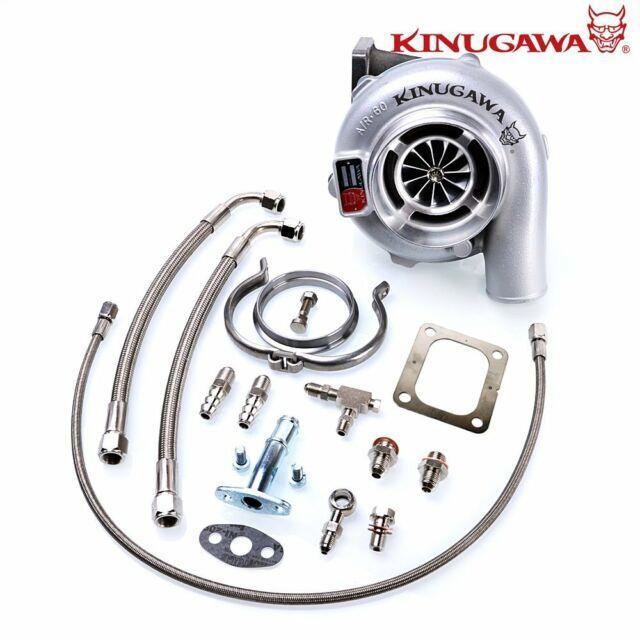 Kinugawa Ball Bearing Turbocharger 4 Anti Surge Gtx3076r 60mm With 1.05 T4 V-band