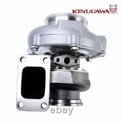 Kinugawa Ball Bearing Turbocharger 4 Anti Surge GTX3076R 60mm with. 61 T3 V-Band
