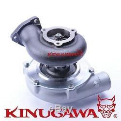 Kinugawa Ball Bearing Turbocharger 4 Anti Surge GTX3076R 60mm with. 73 3 Bolt TH