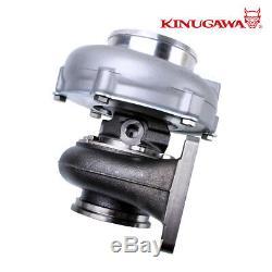 Kinugawa Ball Bearing Turbocharger 4 Anti Surge GTX3076R 60mm with. 73 T3 V-Band