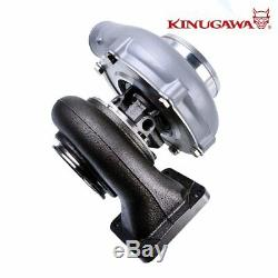 Kinugawa Ball Bearing Turbocharger 4 Anti Surge GTX3076R 60mm with. 85 T4 V-Band