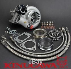 Kinugawa Billet Turbo 3Anti Surge For NISSAN RB20DET TD05H-18G-8cm with T3 V-Band