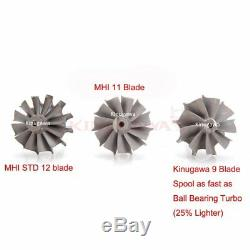 Kinugawa Billet Turbo 3 Anti Surge TD05H-18G with T3 8cm V-Band & 9 Blade Turbine