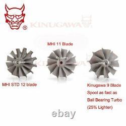 Kinugawa Billet Turbo 3 TD05H-16G Anti Surge / T3 8cm V-Band with 9 Blade Turbine