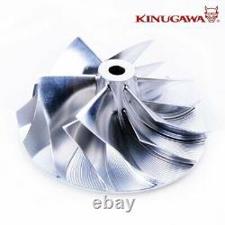 Kinugawa Billet Turbo 4 Anti Surge T67-25G with 8cm Triangle V-Band External Gate
