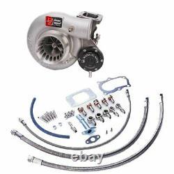Kinugawa Billet Turbocharger 3 Anti Surge For NISSAN RB20 RB25DET TD05H-16G-8cm