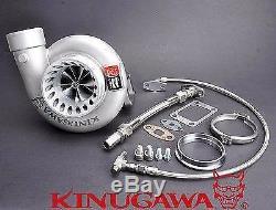 Kinugawa Billet Turbocharger 4 Anti-Surge T67-25G T3 10 cm V-Band Housing 500HP