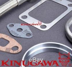 Kinugawa Billet Turbocharger 4 Anti Surge TE06H-25G with T3 12cm. 82 Twin Scroll