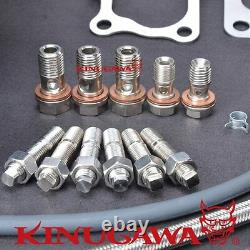 Kinugawa Billet Turbocharger Bolt-On 3 Anti Surge RB25DET TD06H-25G 10cm 9 Blad
