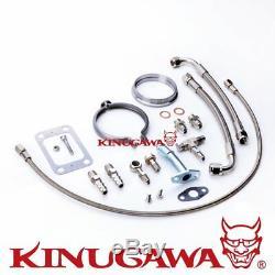 Kinugawa GTX Ball Bearing Turbo GTX3067R / 3 Anti Surge/T25 10cm V-Band Externa