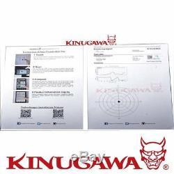 Kinugawa GTX Billet Anti Surge Turbo TD04HL-19T-6cm with T25 External & Oil Cool