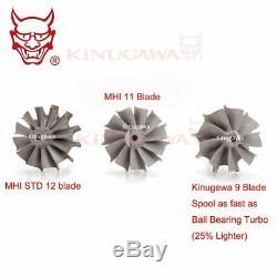 Kinugawa GTX Billet Turbo 3 Anti-Surge TD05H-20G with T3/8cm/V-Band/9Blade Turbin