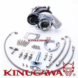 Kinugawa GTX Billet Turbocharger TD04HL-20T-5cm T25 / Anti Surge Forged WG
