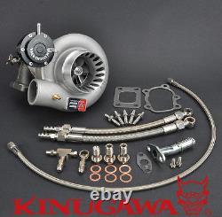Kinugawa STS Billet Turbocharger 3 Anti Surge TD06SL2-25G-8cm T25 5 Bolt 450HP