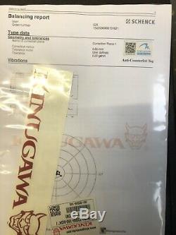 Kinugawa Turbo GTX 3 Anti Surge 9808 SUBARU Impreza WRX Forester TD05H-18G 8cm