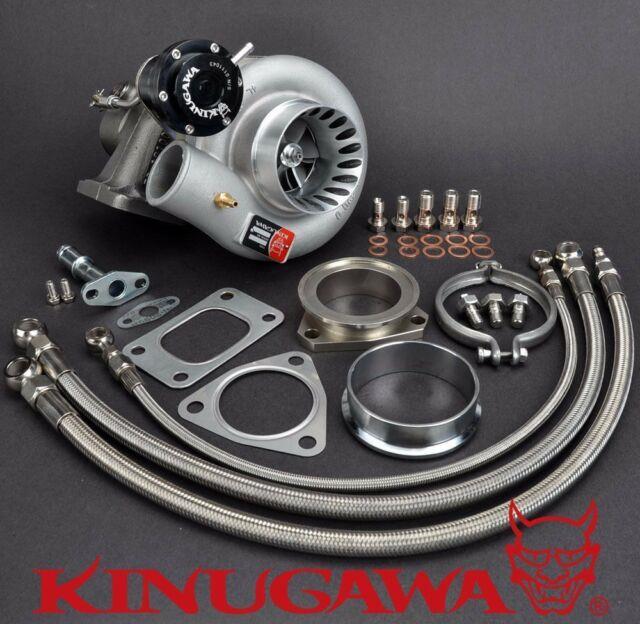 Kinugawa Turbocharger 3 Anti Surge Rb20det Rb25det Td06-20g T3 / 8cm / V-band