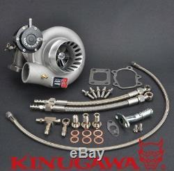Kinugawa Turbocharger 3 Anti Surge TD06H-25G-8cm with T25 5 Bolt & Internal Gated