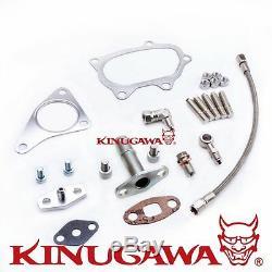Kinugawa Turbocharger 4 Anti Surge AR70 SUBARU STI WRX T67-25G 7cm Oil Cooled